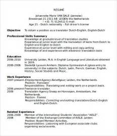 resume format samples word sample microsoft word templates download free documents