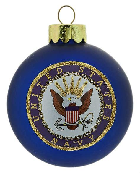navy ornaments u s navy logo ornament by kurt adler traditions