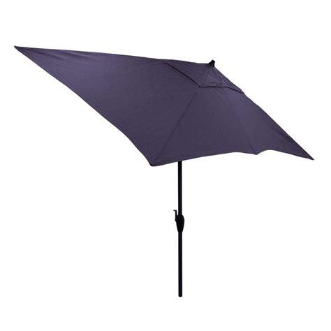 4 ft patio umbrella hton bay 10 ft x 6 ft rectangular aluminum market