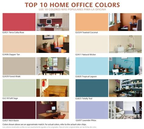 best colors for home office pin by scachetti on work images