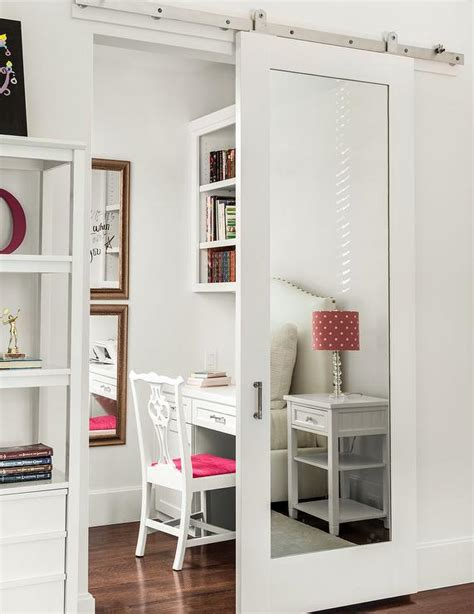 mirrored sliding closet doors for bedrooms barn door bedroom mirrored sliding closet barn door