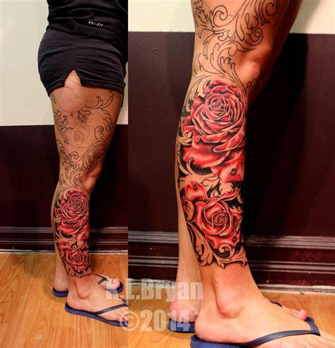 filigree leg sleeve sitting three by danktat on deviantart