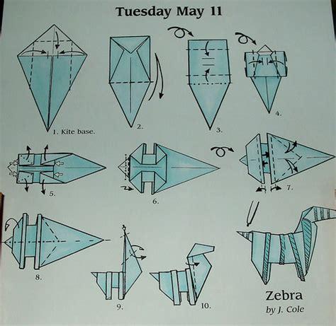 origami zebra zebra origami paper comot