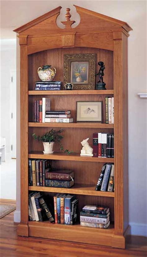 woodworking bookcase federal bookcase woodworking plan from wood magazine
