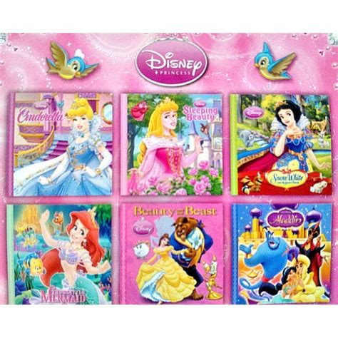 disney picture books disney princess mini books pack of 6