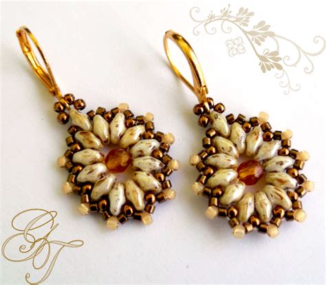 free beaded earring patterns beadweaving earrings on earrings