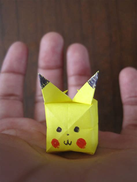how to make an origami pikachu step by step origami step by step comot