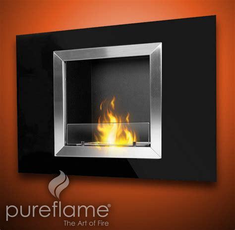 bio fuel fireplaces 32 quot calida wall mounted bio fuel fireplace