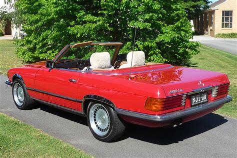Mercedes 380sl Convertible by Sold Mercedes 380sl Convertible Auctions Lot 5