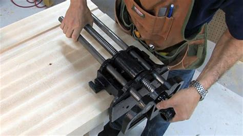 how to mount a woodworking vise installing a vise finewoodworking
