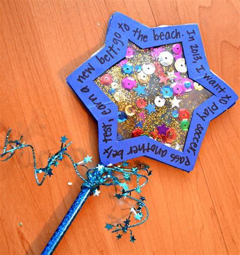 year crafts new year s wishing wand family crafts