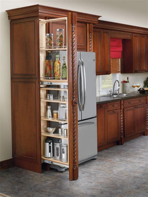 pull out kitchen cabinet rev a shelf 6 quot filler pull out with adjustable