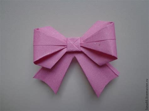 origami gift bow cool creativity how to diy origami paper gift bow