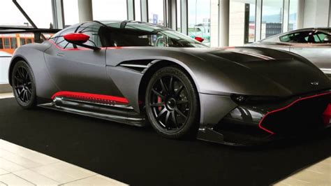 Matte Black Aston Martin by Matte Black Aston Martin Vulcan