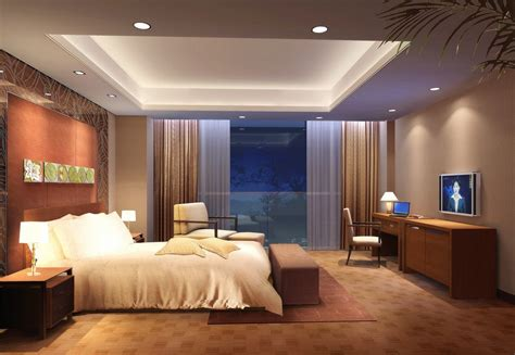 bedroom ceiling lighting ideas beige bedroom design with charming recessed ceiling light