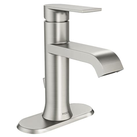 moen kitchen faucet brushed nickel moen genta single single handle bathroom faucet in