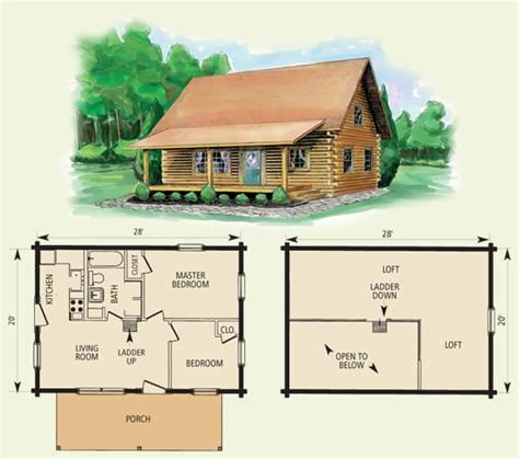 log cabin floor plans and pictures cumberland