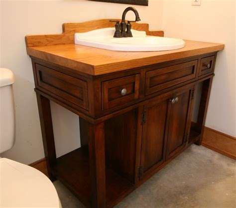 bathroom vanities custom crafted custom wood bath vanity with reclaimed sink