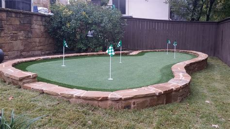 how to make a backyard putting green designing and installing a backyard putting green