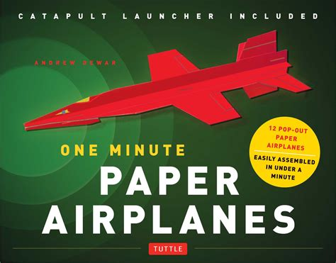 origami paper airplanes book one minute paper airplanes kit book summary