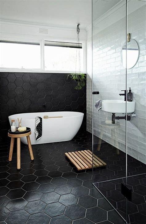 modern bathroom floors 39 stylish hexagon tiles ideas for bathrooms digsdigs