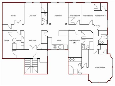 make a house floor plan create simple floor plan draw your own floor plan easy house blueprints mexzhouse
