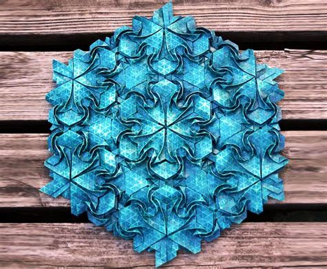 origami artists joel cooper creates stunning origami from simple