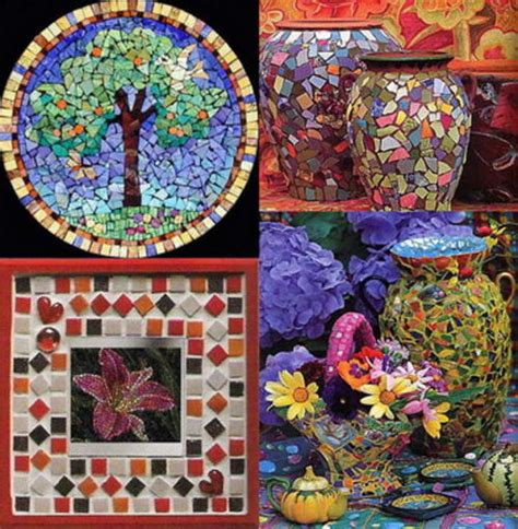 craft projects for beginners mosaic crafts for beginners