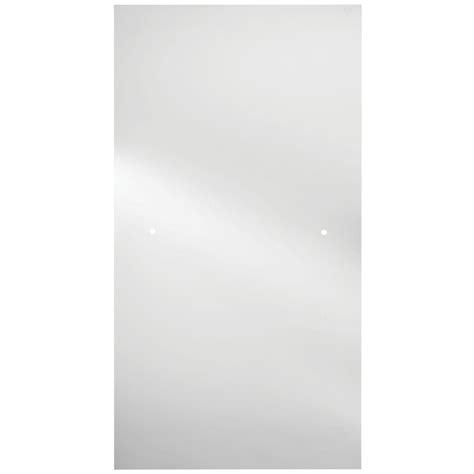 glass for door panels delta 60 in sliding bathtub door glass panels in clear 1