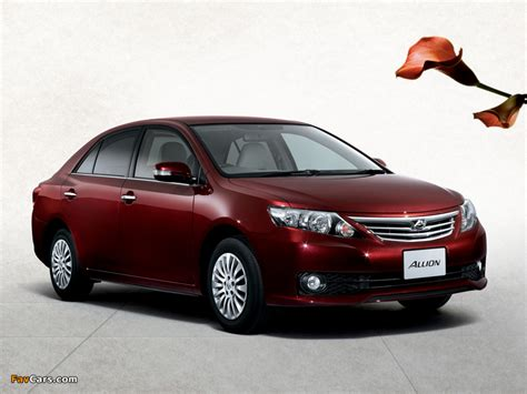 Car Wallpaper 800x600 by Toyota Allion T260 2010 Wallpapers 800x600