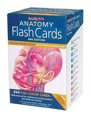 how to make anatomy flash cards anatomy physiology sciences science books