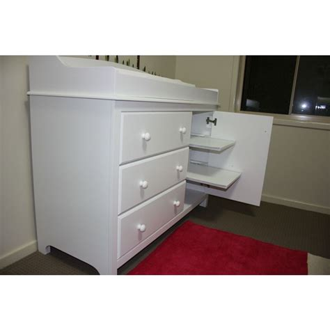 white baby change table with drawers white baby change table with drawers south shore cotton
