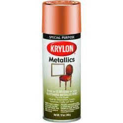 spray paint plastic metallic krylon 1709 metallic spray enamel paint copper at