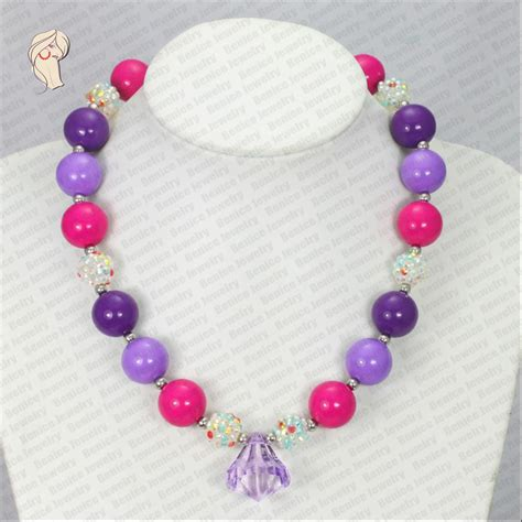 cheap bead necklaces nc30563 wholesale chunky bead necklace chunky fashion
