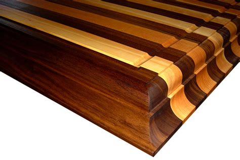 woodworking groove wood countertops with juice grooves by grothouse