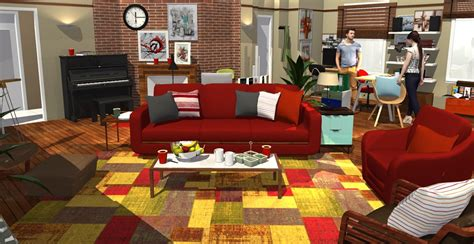 1 Room Apartment Design how i met your mother apartment in 3d homebyme