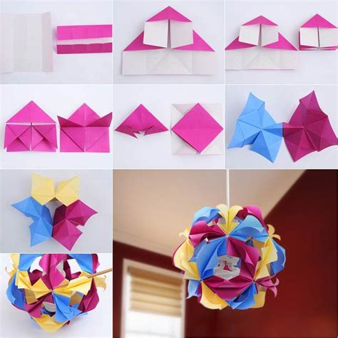diy origami how to diy beautiful origami paper lantern