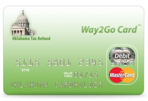 how to make debit cards oklahoma tax commission