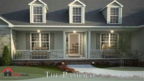 house plans with 3d tour 3d tour of pamlico house plan
