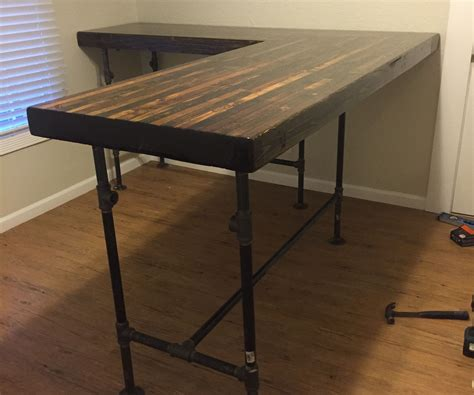how to build a desk diy custom standing desk