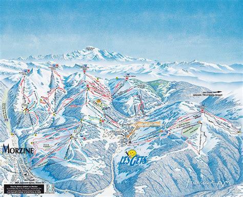 les gets portes du soleil skiing the alps