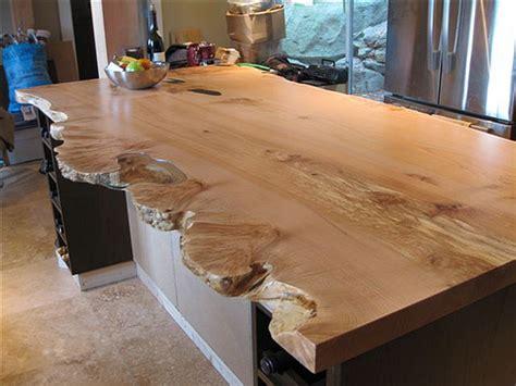 Island Kitchen Design live edge character slab kitchen island live edge slab