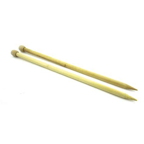 knitting with bamboo needles knitting needles 12mm bamboo x35 cm dmc perles co