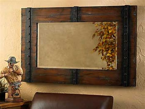 rustic mirrors for bathrooms metal frame wall mirror bathroom ideas mirror rustic