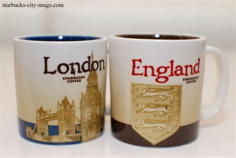 London and England Demi Set   Starbucks City Mugs