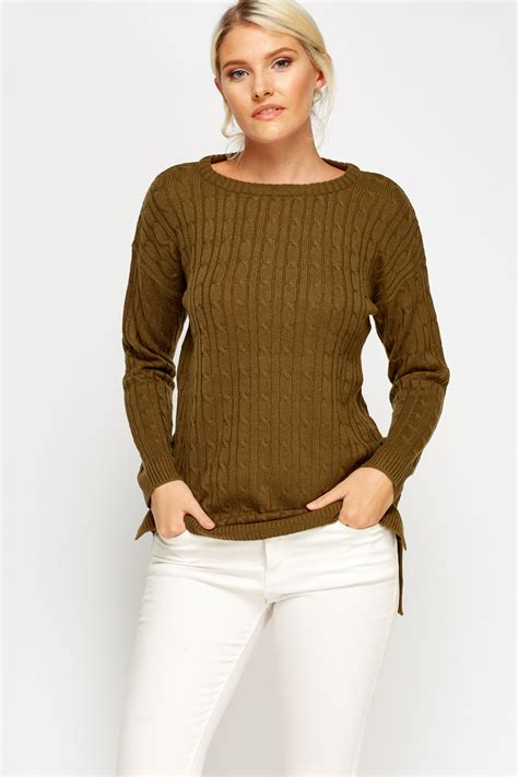 cable knit jumper cable knit jumper 4 colours just 163 5