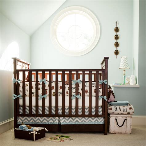 baby boy owl crib bedding retro owls crib bedding owl print crib bedding