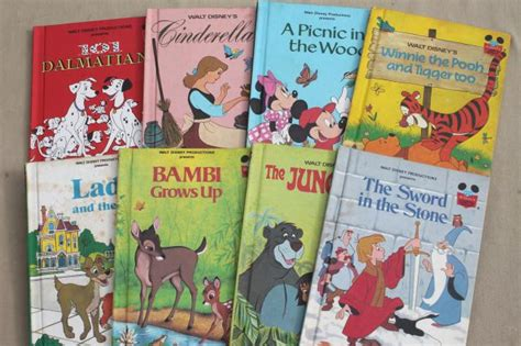 disney picture books vintage picture books lot walt disney presents disney