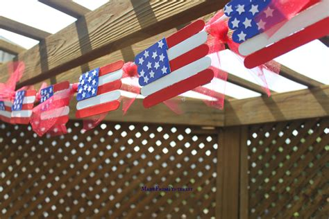 flag crafts for popsicle stick flag craft tgif this is