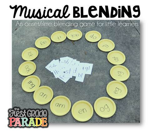 and activities the grade parade musical matching a blending